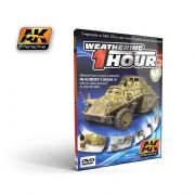 WEATHERING IN ONE HOUR SD.KFZ 222 (PAL)<br>AK036DVD